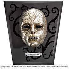 The <b>Noble</b> Collection Lestrange Bellatrix Death Eater Mask: Amazon ...