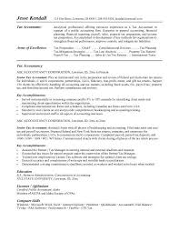 Sample Resume  Resume For Sales Tax Accountant Best