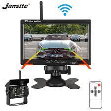 "Jansite 7"" <b>TFT LCD</b> Wireless <b>Car Monitor Display</b> Cameras Reverse ..."