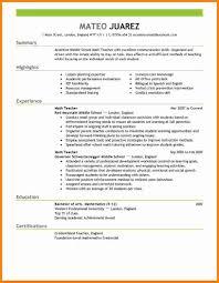 latest resume format for teachers ledger paper examples of great resumes for teachers resume builder