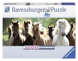 Купить <b>Пазл Ravensburger</b> Дикие <b>лошади</b> (15091) , элементов ...
