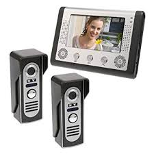 MOUNTAINONE <b>7 inch</b> LCD Home Security <b>Video Door</b> Phone