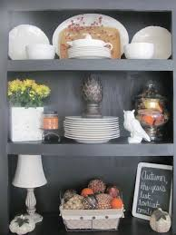 ideas china hutch decor pinterest: fall hutch decor should be just the subtle amount of decorating i can get away