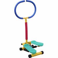 <b>Тренажер детский</b> механический Степпер с ручкой <b>Moove&Fun</b> ...
