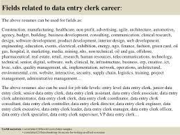 top 5 data entry clerk cover letter samples data entry cover letter sample