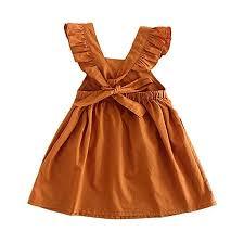 Toddler Girl Summer Dress Ruffle Sleeveless ... - Amazon.com