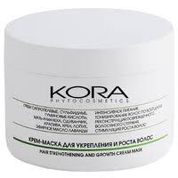 Kora <b>Крем</b>-<b>маска для укрепления и</b> роста волос — Маски и ...