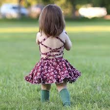 2019 2018 European New Style Baby <b>Girl Summer Dresses</b> Little ...