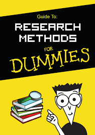 guide to research methods for dummies by hammad issuu