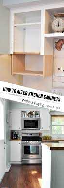 Kitchen Without Upper Cabinets How To Alter Kitchen Cabinets Cherished Bliss