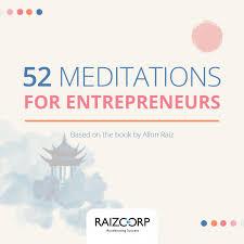 #52MeditationsForEntrepreneurs