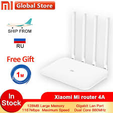 <b>Xiaomi Mi Router</b> 4A Gigabit Edition 100M 1000M 2.4GHz 5GHz ...