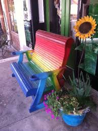 1000 ideas about painted benches on pinterest garden furniture design hand painted chairs and painted chairs avant actiu furniture bench