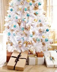 color ideas designer christmas decorations treetopias winter white christmas tree provides the perfect backdrop f