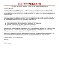 best shift coordinator cover letter examples livecareer edit