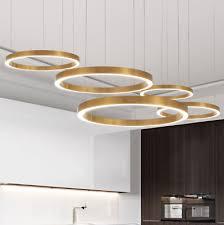 <b>Ceiling</b> Light Simple Modern Pendent Lamp Ring <b>LED Novelty</b> ...