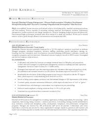 Human Resource Resume Examples  hr manager resumes  human resource