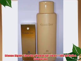 <b>Etienne Aigner Clear Day</b> Woman EDT 50 ml 500 ml Bath - video ...