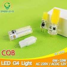 <b>New G4</b> 220V ACDC 12V COB <b>LED Bulb</b> 4W 6W 12W <b>LED G4</b> COB ...