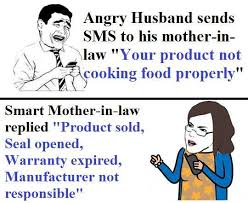 Smart Mother-in-Law | Funny Pictures, Quotes, Memes, Jokes via Relatably.com