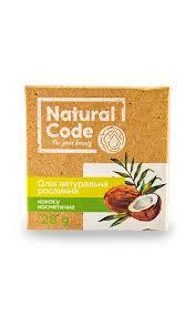 <b>Кокосовое масло Natural</b> Code натуральное растительное ...