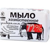 <b>Мыло</b> хозяйственное <b>Невская косметика</b> универсальное 72% 180 г