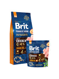 <b>Brit Premium</b> by Nature <b>Senior</b> S+M – Brit