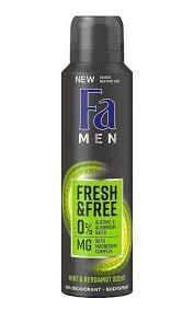 <b>Дезодорант FA MEN Fresh&Free</b> Мята и Бергамот   Watsons