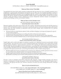 example of education on resume  education on resume examples    special education teacher resume examples