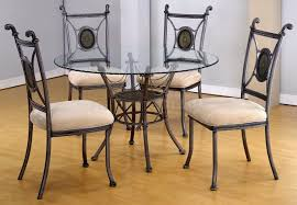 Round Glass Dining Room Table Sets Unique Round Dining Room Tables Decormagz