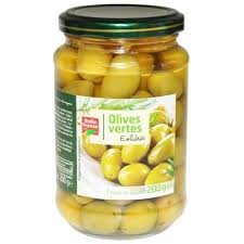 Купить <b>Оливки</b> зеленые <b>Belle France с</b> косточкой стекло, 0.200 кг
