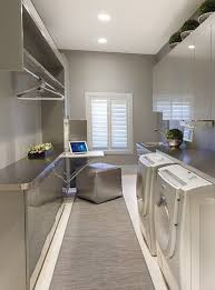 clothes hanger rack laundry room modern with categorylaundry roomstylemodernlocationother metro bright modern laundry room