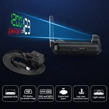 <b>C500</b> Car OBD2 HUD Mirror Head Up Display Smart Digital Speed ...