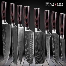 Buy <b>damascus</b> steel <b>kitchen knife</b> set and get free shipping on ...