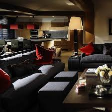 awesome living room style with combinations of colors in modern chalet awesome living room design