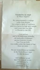 the humanion online daily universana from the united kingdom for touched by an angel a angelou