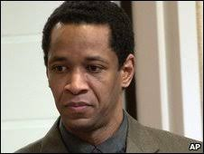 John Allen Muhammad in 2003. John Allen Muhammad never explained the shootings - _46695593_008183664-1