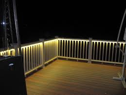 deck and balcony design with led lighting traditional porch balcony lighting