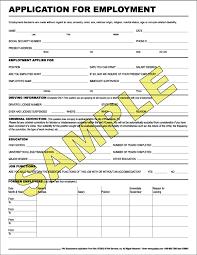 sample blank employment application form sample forms application   image sample job application employment pc android iphone application job sample