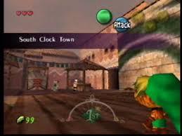 Resultado de imagem para zelda majora's mask south clock town nintendo 64