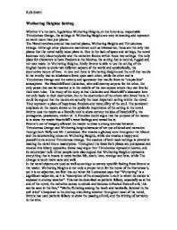essay on wuthering heights  faw my ip mecritical essay on wuthering heights types of validity in critical analysis essay tips and reminders on
