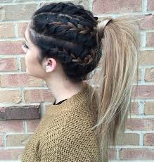 Long Hairstyles With Braids Long Boho Braids Long Hair Dont Care Pinterest Braid Half