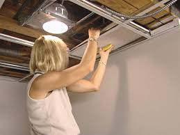 installing ceiling tiles style ceiling lighting options