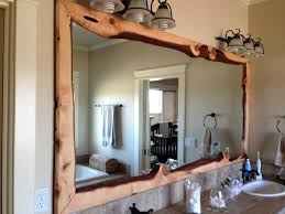 design ideas frame bathroom mirror