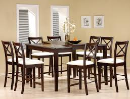 amazing counter height dining table sets amazing cappuccino finish counter height dining room set counter heigh