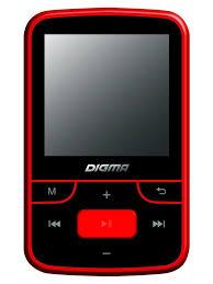 Плеер Flash T3 8Gb черный/красный DIGMA 5474979 в интернет ...