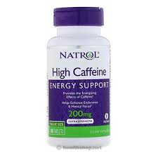 Natrol High Caffeine, Energy Support, Extra Strength ... - Health Shop
