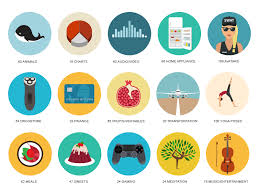 dribbble show and tell for designers basic icons flat icons 1000
