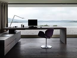 simple home office ultra minimalist office round desk chrome freestanding awesome simple home office