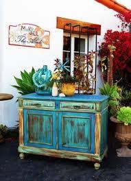 painted furniture boho chic furniture